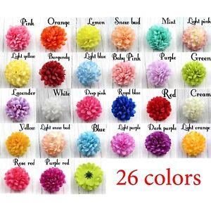 10/100X Daisy Artificial Fake flower Silk Spherical Heads Bulk Wedding DIY Decor
