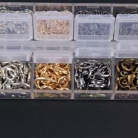 120pcs Lobster Clasps and 840pcs Jump Rings DIY Accessories for Vintaged Jewelry