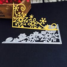Christmas Snowflake Metal Cutting Dies Stencil Scrapbooking Card Paper Embossing