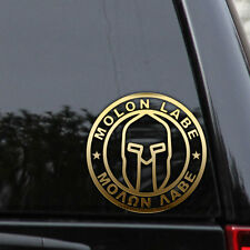 Molon Labe Decal Sticker Car Truck Window Laptop Come and Take Them Spartans