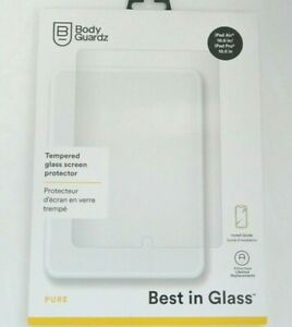 "New BodyGuardz Pure Tempered Glass Screen for iPad Pro / iPad Air 10.5"""