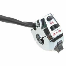 7/8'' Chrome Motorcycle Handlebar Switch Horn Turn Signal Headlight Control ATV