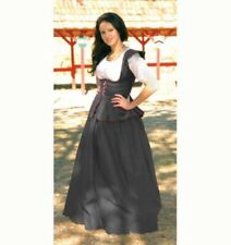 "Sofis Stitches Renaissance Black Gathered Skirt 27"" - 33"" Waist"