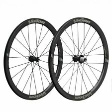 Vision Metron 40 TL Carbon Clincher DB CL Wheelset shimano 10/11 speed-24/28H