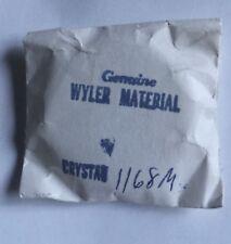 Original vintage Wyler Lifeguard divers watch crystal 1168M Wyler Heavy Duty 660