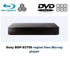 Sony BDP-S3700 MULTI REGION ALL REGIONS Free ABC DVD WiFi 1-8  Blu-Ray Player