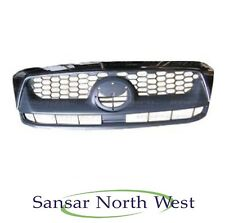 Toyota Hilux - Front Grill - Chrome & Grey  2009- 2011 Models