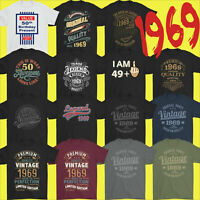 Mens Funny 51st Milestone Birthday T-Shirt 51 Year Old Gift Idea Present 1969