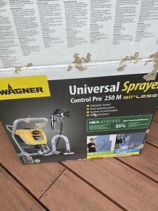 Wagner Control Pro 250m Airless Paint Sprayer - Used Once For About 15 Mins