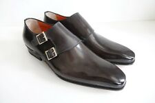 SANTONI Schuhe Herrenschuhe Businessschuhe - GR.5,5 (39,5) - NEU/ORIGINAL