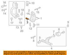 Buick GM OEM 12-16 Regal Front Suspension-Knuckle Lower Bolt 11570788
