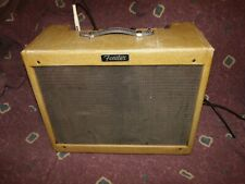 Vintage 1960 Fender Tweed Vibrolux Amplifier orig electronic relic retweed