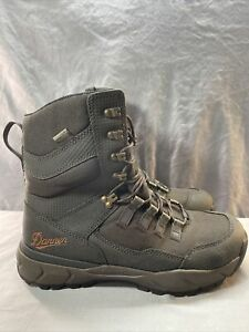 """Danner Boots Mens Vital 8"""" Brown Hunting Boots (41550) Size 9 D"""