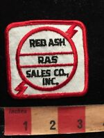 Vintage (? circa 1980s / 90s) RAS RED ASH SALES CO INC. Advertising Patch 86NA