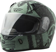 Fly Racing Revolt FS Full Face Street Motorycle Helmet Snell DOT Approved