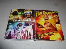 WWF WWE MACHO MADNESS RANDY SAVAGE ULTIMATE HULK HOGAN UNRELEASED SERIES DVD LOT