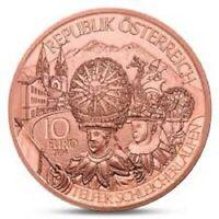 10 Euros Autriche 2014 Cuivre Tirol