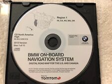 1997 to 2002 BMW 7 5 3 Series M3 M5 X5 Navigation CD Map #1 HI, CA, WA, NV  #17