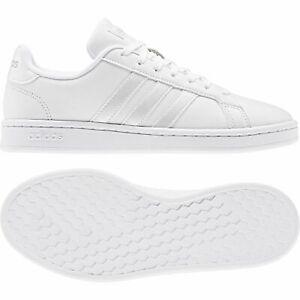 adidas GRAND COURT Damen Schuhe Sneaker Low Top EE8172 Weiß