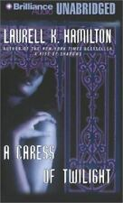 """A Caress of Twilight""  Laurell K. Hamilton unabridged cassette audiobook 2002"