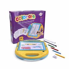 Playkidiz Colorate Light Up Tracing Tablet, Coloring Pad for Kids of All Ages