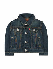 Levi's Jean Jacket Red Tab Trucker Denim Toddler Boy's Size 18 Month MSRP $44
