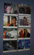 Original SUPERMAN II lobby card set Christopher Reeve GENE HACKMAN Jack O'Hallor