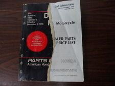 Honda Dealer Parts Price List Effective December 1 1996 Volume 3  00X96-HMC-A00