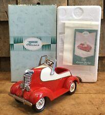 Vintage Hallmark Kiddie Car Classics 1939 Garton Lincoln Zephyr luxury Edition