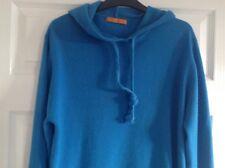 Mens Soul Cal Hoody Hoodie Hooded Jumper Top Blue Large 100% Acrylic