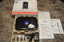 Netgear N600 Inalámbrico Doble Banda Wps 4-port Router Wndr3400v2,300mbps en