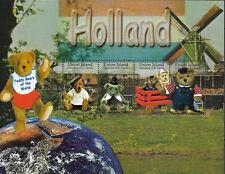 "UNION ISLAND - 2003 MNH ""Teddy BEARS Of The World - HOLLAND"" Souvenir Sheet !!!"