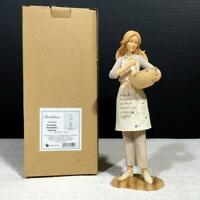 Foundations 4044082 COOKING FRIENDSHIP Resin Figurine by ENESCO