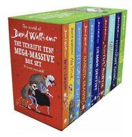World of David Walliams The Terrific Ten! Mega-Massive Box Set 10 Books New