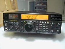 ICOM IC-737A HF HAM TRANSCEIVER with FM/AM BOARD /built in antenna tuner.