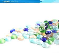 Artificial Fish Tank Decoration 100g/lot Artificial Multicolor Pebble Stone A056