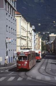 35mm Slide TRAM No.31 (Route 1) Innsbruck West BHF AUSTRIA 2003 + C/right