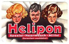 HELIPON Haarwasch-Mittel / Suttgart & Waiblingen * Reklame-Karte u 1930 keine AK