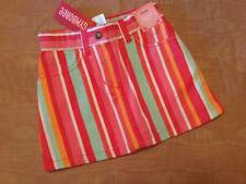 NWT Gymboree Tropical Garden Striped Cotton Skort Little Girls Sz 3