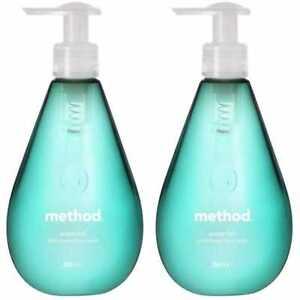 2 x Method Gel Handsoap Waterfall - 354ml - 2 Bottles Hand Wash