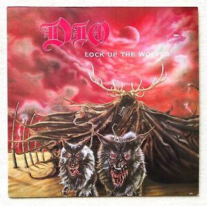 DIO  lock up the wolves LP 1.Press 1990 Black Sabbath Rainbow Judas Priest Venom