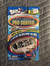 Tech Deck Tony Hawk's PlayStation Pro Skater 1999 Flip Geoff Rowley THPS Vintage