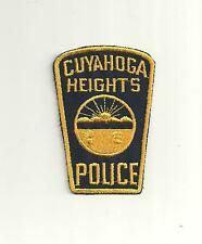 CUYAHOGA HEIGHTS OHIO POLICE PATCH/