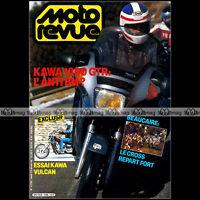 MOTO REVUE 2738 KTM GS 125 HUSQVARNA WR KAWASAKI 1000 GTR & 750 VULCAN 1986