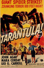 Vintage Science Fiction Horror Movie Poster Tarantula