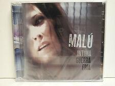 MALU - INTIMA GUERRA FRIA - CD + DVD - 15/11/2011 - NUEVO - PRECINTADO -SEALED