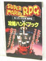SUPER MRIO RPG Strategy Hand Book Guide SFC 1996 Ltd Booklet