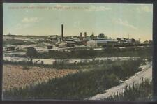 Postcard NEW CASTLE PA  Lehigh Cement Co Factory/Plant Aerial view 1907