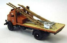 Dennis Pax 56 ton flatbed 1950 G147 UNPAINTED OO Scale Langley Models Kit 1/76