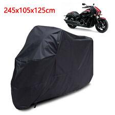 XL Motorcycle Waterproof Outdoor Motorbike Bike Rain Cover XL Black Storage UK